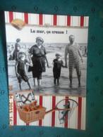 "Grande CP -LES GRANDES VACANCES- ""L A Mer ça Creuse"" - Fantaisies"
