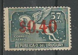Pégase 40c S 57c Vert * - Uruguay