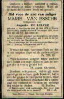 Souvenir Mortuaire VAN ESSCHE Marie (1878-1920) Echtg. DE KELVER A. Geboren En  Overleden Te NEERIJSSCHE - Images Religieuses