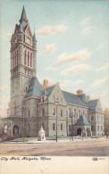 HOLYOKE, Massachusetts; City Hall, PU-1908 - United States