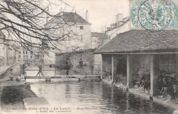 CPA Is sur Tille - Le lavoir - Rue H�pital Nicolas