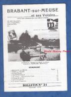 Livret De 1988 - BRABANT Sur MEUSE Et Voisins - Histoire Locale - Sivry Sur Meuse Samogneux Champneuville - Lorraine - Vosges