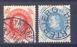 Denemarken - 1930 - Yv. - 201+203 - Gestempeld - 1913-47 (Christian X)