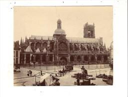 76 - Belle Photographie De DIEPPE ( église St-Jacques ) Format 10 X 12,5 Cm - Dieppe