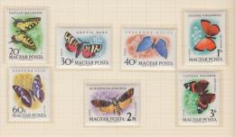 Hungary 1959 - Butterflies - Michel 1633-1939 MNH ** - Hongrie