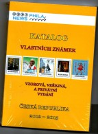 Czech Republuic 2012-2015 - Catalogue Privatstamps, NICE!! - Cataloghi