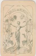 Carte Illustrée (anciennement) Parfumée GARDENIA FLORE De L. Legrand, 11 Pl. De La Madeleine. Paris. (rare ) - Publicités