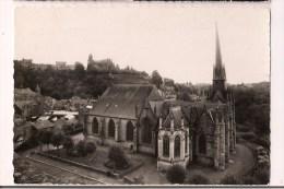 - 35 - FOUGERES: L'Eglise Saint-Sulpice - Vue Prise De La Tour Surienne - Cpsm  Années 50 - - Fougeres