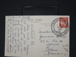 GRANDE-BRETAGNE- Oblitération De La VII Th Plenary Assembly 1953  Sur Cp Pour Paris      LOT P4156 - 1952-.... (Elizabeth II)