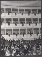 6613-N°. 3 FOTO-LA PICCOLA SCALA-MILANO-LA SERATA INAUGURALE DEL 26-12-1955-LIRICA - Places