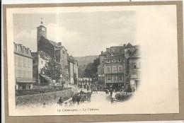Lozere : La Canourgue, Le Chateau, Belle Animation Precurseur - France