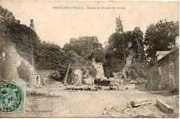 35. Pancé. Ruines Du Chateau De Fretay - France
