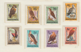 Hungary 1962 - Birds, Michel 1881 -1888 MNH ** - Hongrie