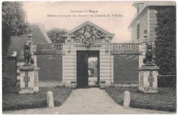 Somme 80 - ROYE Environs De Entrée Principale Des Ecuries Du Chateau De Tilloloy Statue Lion Anges - Roye