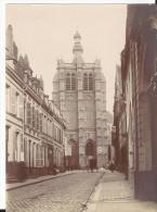 Photo - Début XXème - Douai - Rue église St Pierre - Luoghi