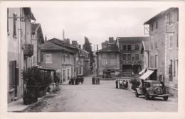 Carte Postale Des Années 40-50 De Saint Jean De Bournay - Le Centre Ville - Automobile - Devanture En Petit Plan - Saint-Jean-de-Bournay