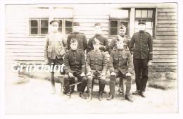 CARTE PHOTO CAMP DE PRISONNIER DE GUSTROW ALLEMAGNE 3/10/1917 - Güstrow