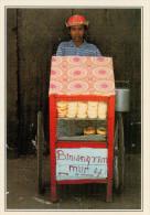INDONESIA  SAMBAWA:   VENDITORE AL PORTO DI SAPE        (NUOVA CON DESCRIZIONE DEL SITO SUL RETRO) - Indonesia