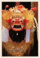 INDONESIA  BATABULAN:  LA MASCHERA DEL BARONG     (NUOVA CON DESCRIZIONE DEL SITO SUL RETRO) - Indonesia