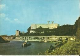 Huy -- Le  Pont  -  Le  Fort  Et  La   Collégiale.   (2 Scans) - Huy