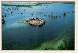 FILIPPINE   ZAMBOANGA:  VILLAGGIO  DI  PESCATORI    (NUOVA CON DESCRIZIONE DEL SITO SUL RETRO) - Filippine