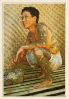 MALAYSIA  NYARING:  UOMO IBAN TATUATO     (NUOVA CON DESCRIZIONE DEL SITO SUL RETRO) - Malesia