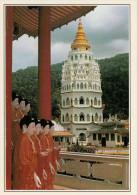 MALAYSIA  PENANG:  TEMPIO DI KEK LOK SI    (NUOVA CON DESCRIZIONE DEL SITO SUL RETRO) - Malesia