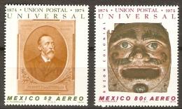 MEXIQUE    -    Aéro .     1974 .   U. P. U. - Mexique