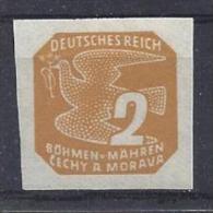 Germany (Bohmen Und Mahren) 1943  Freimarken  (*) MM  Mi.117 - Besetzungen 1938-45