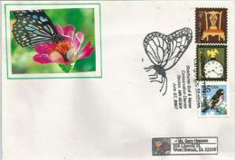 ETATS-UNIS. Native Pollinator Protection (Soil & Water Conservation),lettre Du Minnesota Adressée En Iowa. - Butterflies