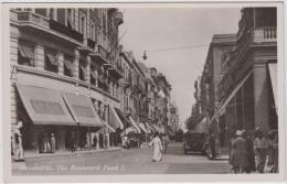 AK - Alexandria - The Boulevard Fuad I. - 1938 - Alexandria
