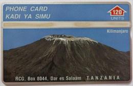 TANZANIA - L&G - 302A - 120 Units - Kilimanjaro - 3000ex - Mint - Tanzania