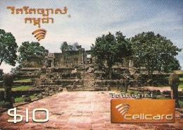 *CAMBOGIA* - Scheda Usata - Cambodia