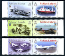 Falkland Islands 2002 20th Anniversary Of Liberation Set Of 6, MNH - Falkland Islands