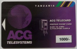 TANZANIA - ACG Logo - 1000 - Prepaid - Used
