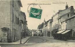 01 -  PONT DE VAUX - GRANDE RUE - Pont-de-Vaux