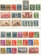 Francia Año 1923-1933 Yvert Varios  Lote De  35 Sellos Matasellos  S  Varios - Used Stamps