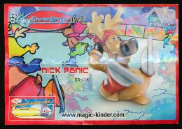 Notice NICK PANIC (25-114), Show On Ice, Www.magic-kinder. Com - Notices