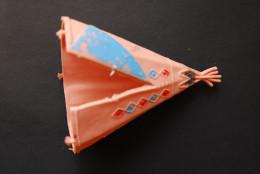 Indianerzelt-passend-zu-BRITAINS-TIMPO-ELASTOLIN-PLASTY-CHARBENS - Action- Und Spielfiguren