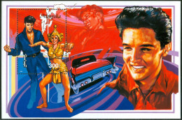 1996 Mongolia Elvis Presley Set 2 Block MNH** D132 - Elvis Presley