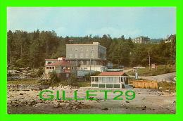 SAINT SIMÉON, QUÉBEC - AUBERGE SUR MER VUE DU FLEUVE - PUB. BY THATCHER-WINGER ASS. LTD - - Quebec