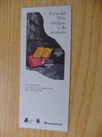 MARCAPAGINAS - MARQUE- PAGES - FERIA DEL LIBRO ANTIGUO Y DE OCASIÓN - SALAMANCA 1993 - Marcapáginas