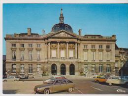 CHALONS-SUR-MARNE-L'Hotel De Ville-(autos:GS  Citroên,dyane,renault 8,coccinellle Wolsvagen Etc.. - Châlons-sur-Marne