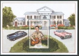 Dominica  Elvis Presley Block MNH** D243 - Elvis Presley