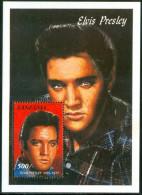 1992 Tanzania Elvis Presley Block MNH** D245 - Elvis Presley