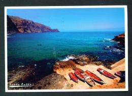 CAPE VERDE  -  Santa Antao  Port Of Cruzinha Garca  Used Postcard As Scans - Cape Verde