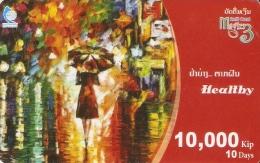 *LAOS* - Scheda Usata - Laos