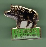 LES QUARTS DE SECHEVAL *** SANGLIER *** (00E) - Cities