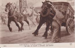 CPA Salon De Paris - C. De Busschère - Le Chantier (14091) - Paintings