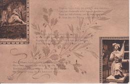 CPA Carte Patriotique - Belfort - Alsace - 1918 (14093) - Patriotiques